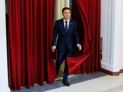 Новият президент на Украйна Володимир Зеленски СНИМКА: Ройтерс