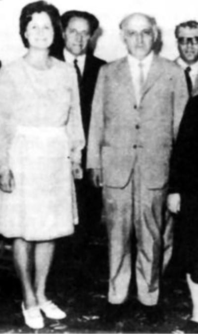 Ангелина Горинова и Тодор Живков