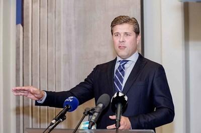 Премиерът на Исландия Бярни Бенедиктсон  СНИМКА: Ройтерс
