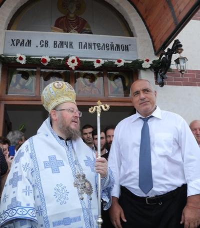 Бойко Борисов в Бяла СНИМКИ: пресслужбата на кабинета