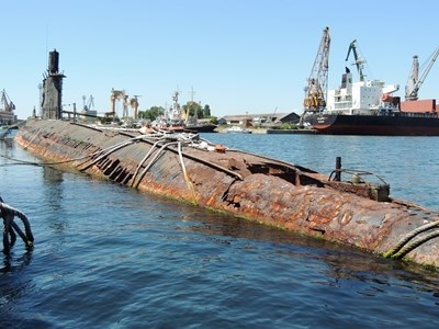 "Последната българска подводница ""Слава"" СНИМКИ: Архив"