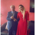 Главният мюфтия със съпругата си. СНИМКА: СТАНДАРД.МК