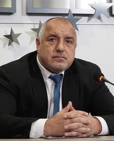 Премиерът и лидер на ГЕРБ Бойко Борисов