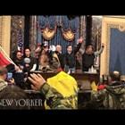 Нови кадри от нападението над Капитолия отвътре (видео)
