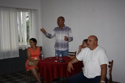 На срещата в село Филаретово присъстваха още народният представител от ГЕРБ и областен координатор на партията Десислава Танева, кметът на селото Нурие Бекирова. Снимки ГЕРБ