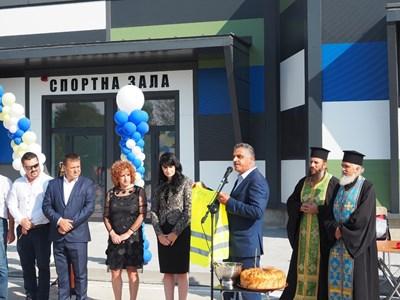 """Кметът на """"Марица"""" Димитър Иванов откри новата придобивка в Труд"""