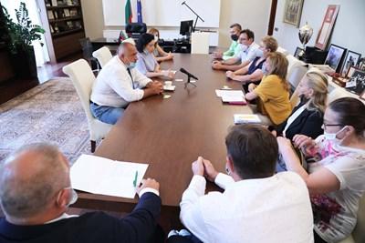 Втора среща със земеделци в рамките на два поредни дни имаше премиерът Бойко Борисов.