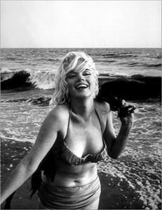 """Снимка на Мерилин Монро от Джордж Барис за """"Космополитън"""" (една от последните ? фотосесии), 1962 г."""
