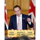 Британският министър на здравеопазването Мат Ханкок СНИМКА: Ройтерс