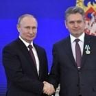 Владимир Путин и Николай Малинов СНИМКА: kremlin.ru