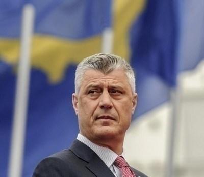 Бившият командир от Армията за освобождение на Косово (АОК) и бивш президент на Косово Хашим Тачи