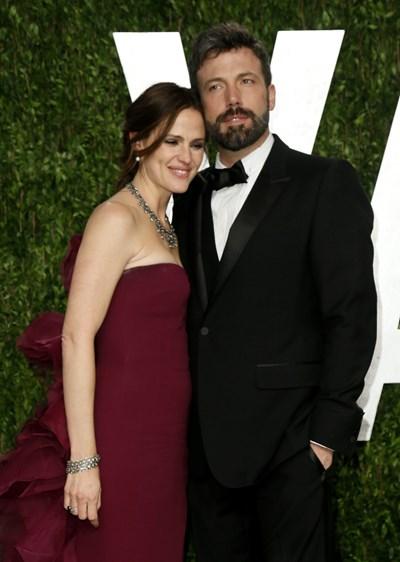 Афлек с бившата си съпруга Дженифър Гарнър, с която се разведе окончателно през 2018 г. СНИМКА: РОЙТЕРС