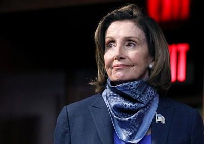 Председателката на Камарата на представителите в Конгреса на САЩ Нанси Пелоси СНИМКА: Ройтерс