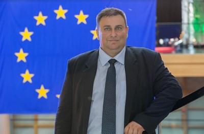 Евродепутатът от ЕНП/ГЕРБ Емил Радев СНИМКА: ПП ГЕРБ