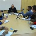 Управителят на ВиК в Хасково Божидар Желязков обяви, че дружеството търси възможности за намаляване на разходваната електроенергия. Снимка: БТА