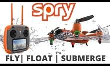 Първият водоустойчив дрон, който лети и се потапя във вода