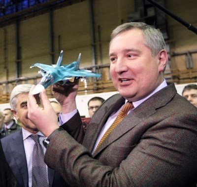 Дмитрий Рогозин  СНИМКА: Ройтерс