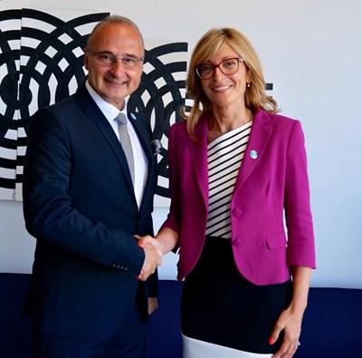 Започна официалното посещение на вицепремиера Захариева в Хърватия