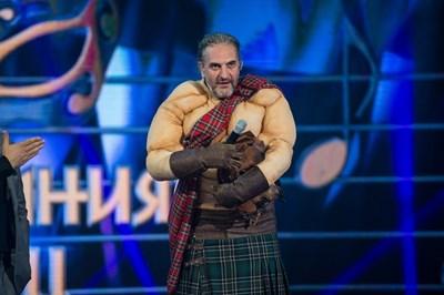 Юлиан Константинов свали маската на Шотландеца в събота.  СНИМКА: НОВА ТВ