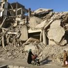 """Руски сили влязоха в разрушения град Ракка, бившата """"столица"""" на """"халифата"""" на """"Ислямска държава"""" в Сирия. Снимка РОЙТЕРС"""