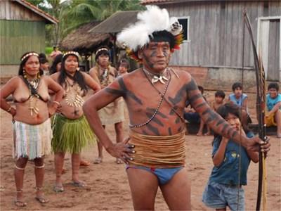 Индианци от племето амондава. Снимка интернет