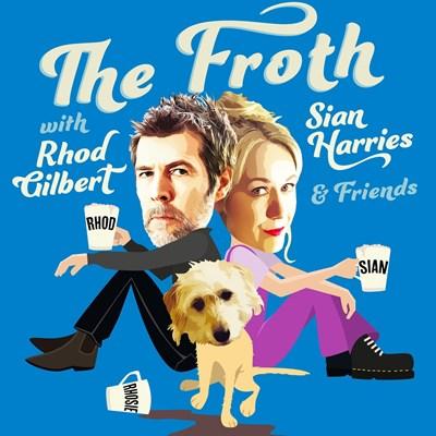 Род Гилбърт и съпругата му Шон Харис правят комедиен подкаст, в който обсъждат житейски ситуации. СНИМКА: Фейсбук