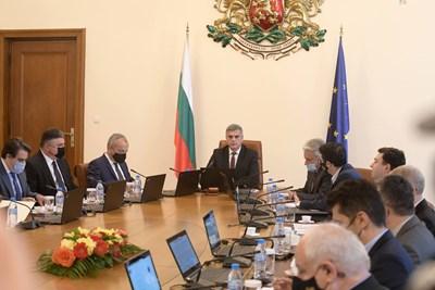 Заседанието на Министерски съвет днес СНИМКА: Йордан Симеонов