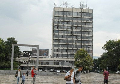 Бившият партиен дом в Пловдив.