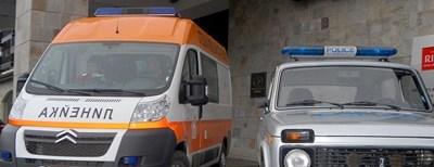 Линейка и полиция на място. Снимка: Архив