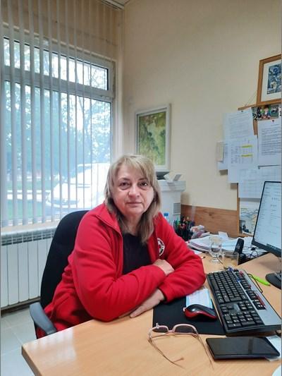 Маргарита Касабова, директор на секретариата на областния съвет на БЧК в Силистра СНИМКА: Авторът