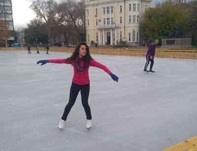 Пловдивчани няма да карат кънки на лед тази зима.