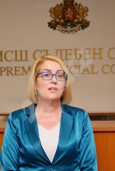 Позицията е разпространена от говорителя на прокурорската колегия на ВСС Даниела Машева.