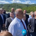 Снимка: къдър от видео на фейсбук профила на Борисов