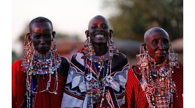 Масаите – любимото племе на европейците