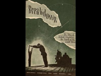 """През март 1950 г. """"Свободна Европа"""" разказва за изтезанията срещу българина под заглавие """"Пречупване. Историята на Майкъл Шипков в ръцете на тайната полиция"""". СНИМКИ: АВТОРЪТ И ЛИЧЕН АРХИВ"""