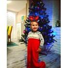 Тригодишният Теодор от Шумен се мушна в коледен чорап