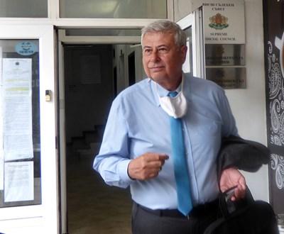 Илиан Алипиев беше разпитан в понеделник. СНИМКА: Румяна Тонeва
