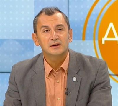 Представляващият Световната здравна организация в България доц. Михаил Околийски КАДЪР: БНТ