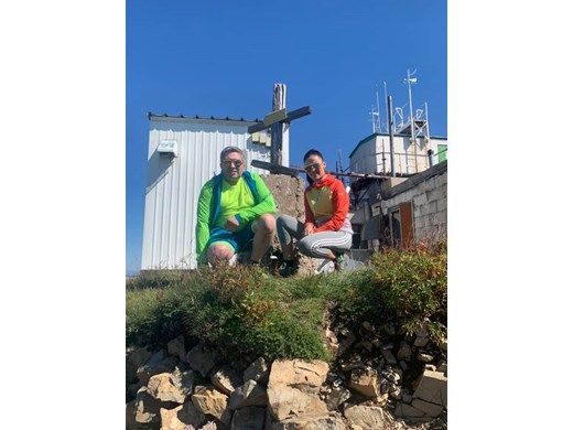 Вместо сватба Нанков изкачи връх Мургаш с булката си