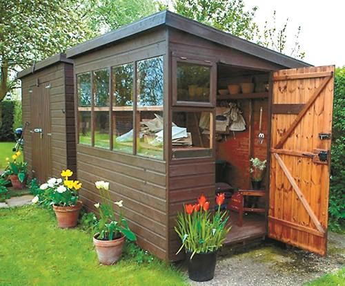 7 идеи за миниградинска къщичка