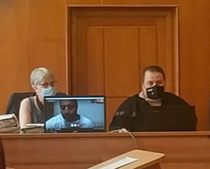 Митьо Очите бе разпитан по скайп от софийския затвор. Снимки:Елена Фотева