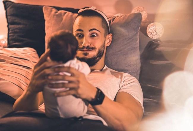 Наум Шопов обича да прекарва всяка свободна минута в компанията на дъщеря си.