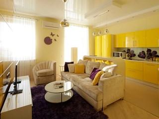 Малкото жилище в жълто (галерия)