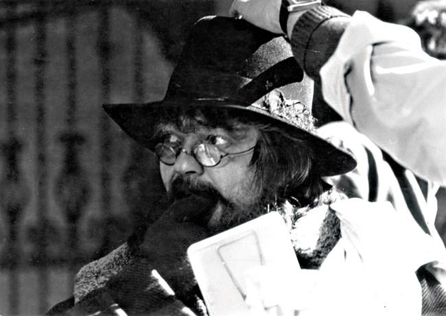 """Ето я Невена като евреина вехтошар във филма """"Делници и празници"""" на режисьора Павел Павлов"""