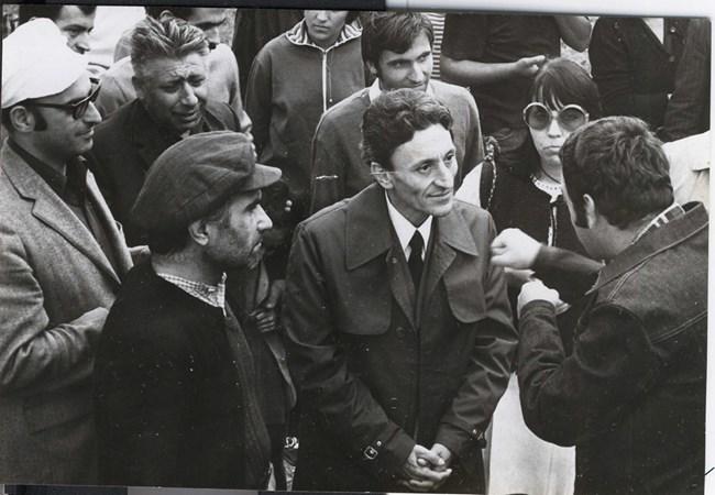 Йордан Радичков с режисьора Христо Христов