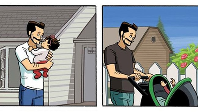 Този комикс за отглеждането на дете ще промени начина, по който гледате на живота