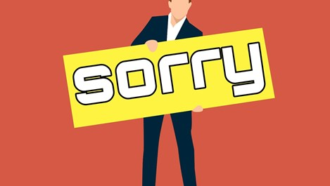Ситуации, в които не бива да се извиняваме