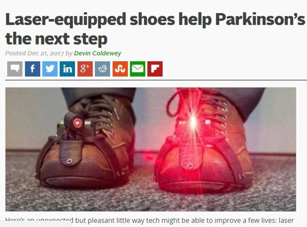 Лазерни обувки помагат на страдащите от  Паркинсон