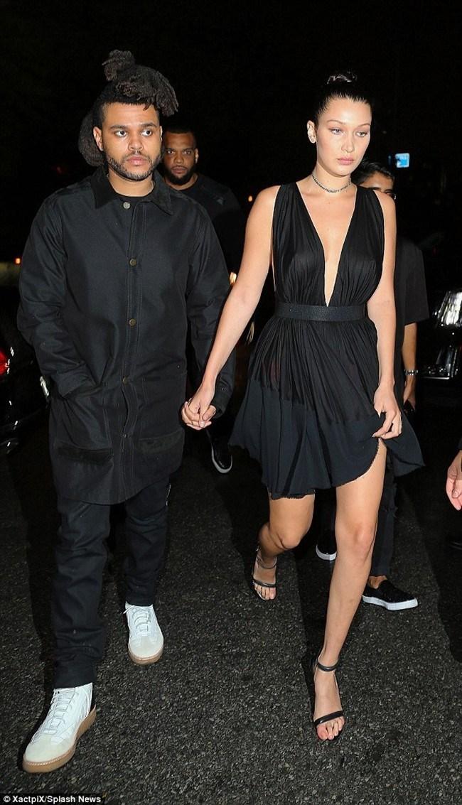 Бела Хадид и The Weeknd. СНИМКА: Архив