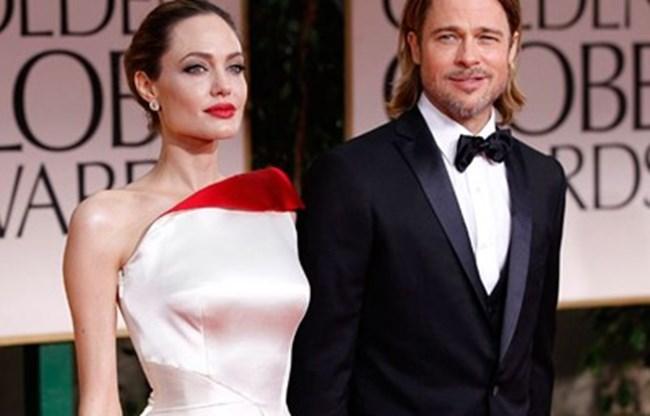 Брад Пит и Анджелина Джоли. СНИМКА: Архив